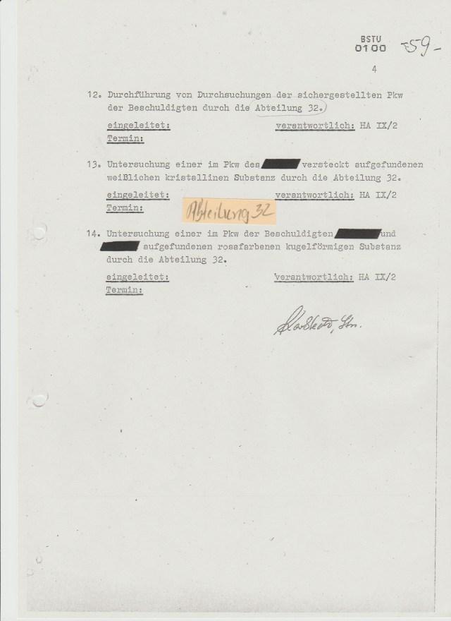 DAS war der Beginn derErmittlungen zu einer der größten Wirtschaftssubversionen der DDR geschichte !?