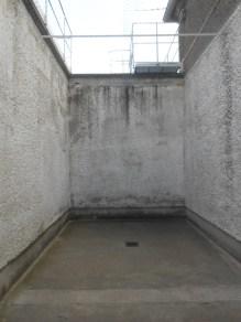 Als TIGERKÄFIG bezeichnet - ist eigentlich eine Verwahrbox für den täglichen Aufenthalt im Freien; in der U-Haft Berlin Hohenschönhausen gab es 14 Stück davon.