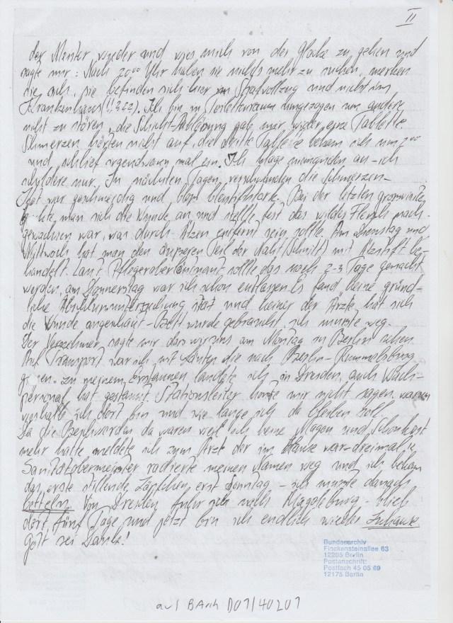 AZ.: 241-73-82 Eingabe an den Generalstaatsanwalt Voigt 23.10.82