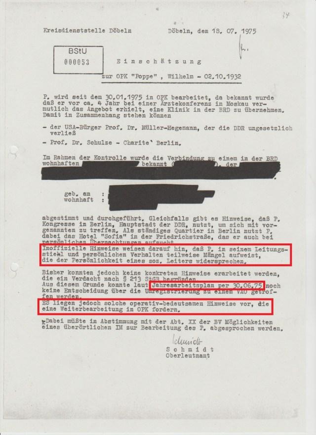 Unter dem Vorwand die Persönlichkeitsrechte Dritter zu schutzen verwendet JEDER in der BStU das STASI - StUG um willkürlich wichtige Namen, Ereignisse und Fakten zu schwärzen um die Inhalte der Geschichtsforschung zu entziehen.