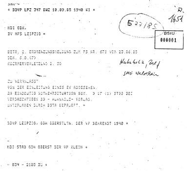 Am 23.1.2018 wurde diese Akte dem Landgericht gegenüber durch BND Dame Jutta Probst unterdrückt. Warum wohl ?!?