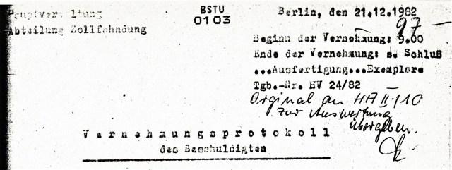 "Operativ Vorgang ""Merkur"" - Tarnung für die HA II/10 Spionageabwehr gegen Jugoslawien"