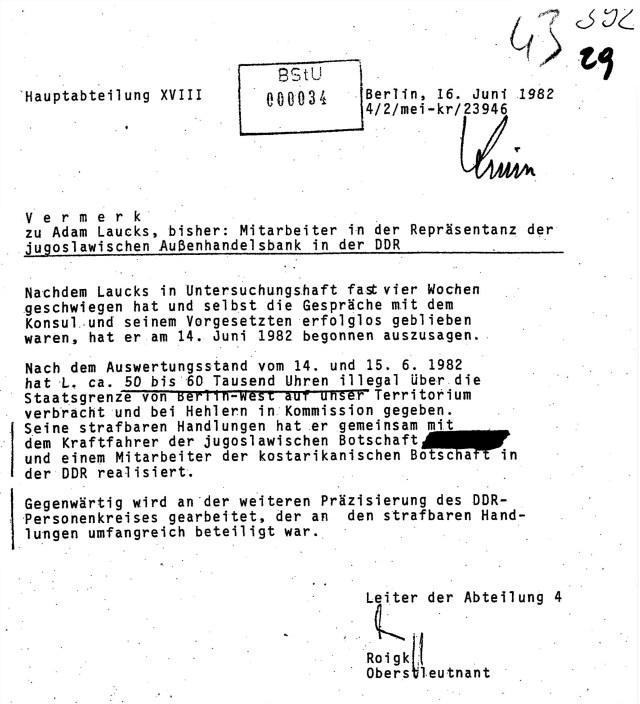 """Erich Mielke:""""Die Beweise werden erarbeitet"""""""