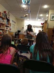 Amazing author visit