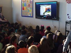Avcado Elementary Skype author visit