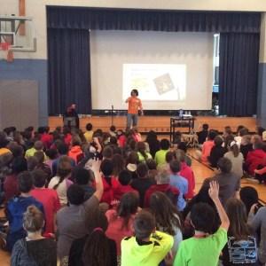 Buckingham Elementary School Visit