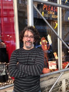 My book in the front window of Books of Wonder, NYC