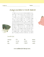 Fun Activity – Zoey and Sam's Word Search