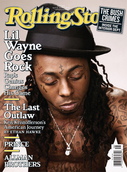 Lil Wayne Rolling Stone Cover Drawing (1/2)