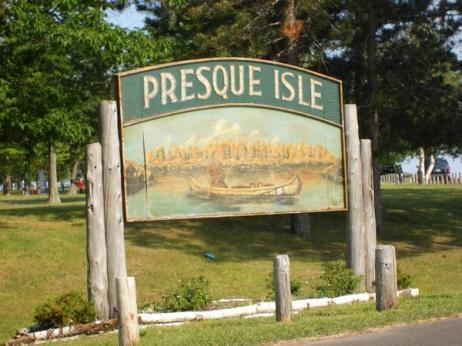 Presque Isle Park in Marquette, Michigan