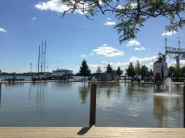 Walking near the Inner Harbor in Toronto