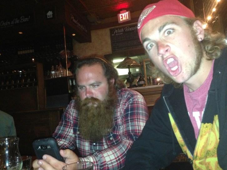 Dan and Jon at Bar Volo
