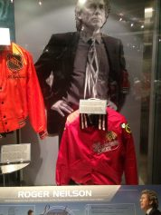 Roger Neilson display at the Hockey Hall of Fame