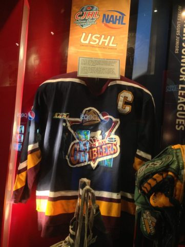 Green Bay Gamblers USHL uniform