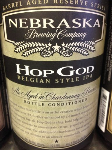 Nebraska Brewing Co - Hop God