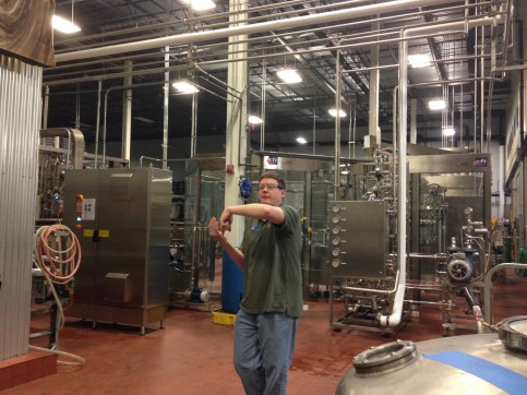Tröegs Brewery Tour