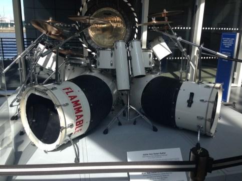 Alex Van Halen's drum kit
