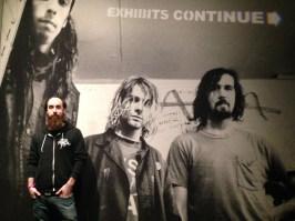 Dan pretending to be part of Nirvana