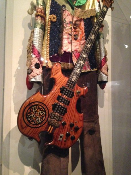 John Paul Jones of Led Zeppelin Bass Guitar, Jacket, and Pants
