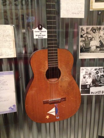 Conor Oberst of Bright Eyes Guitar