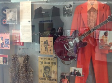 Chuck Berry Guitar and Suit