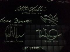 Led Zeppelin signatures