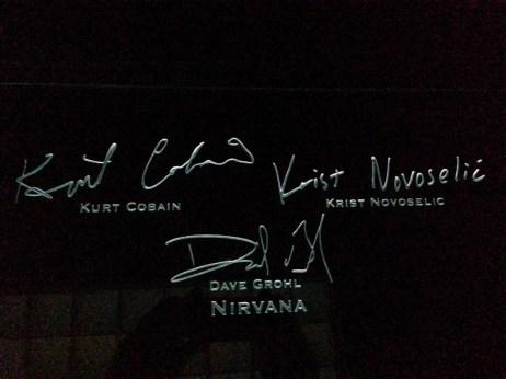 Nirvana signatures