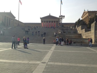 "Philadelphia Museum of Art - ""Rocky Steps"""