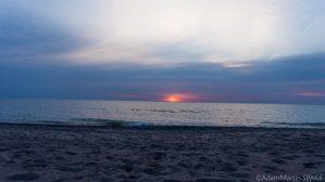 Sunrise over Lake Michigan in Kenosha
