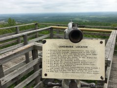 East tower landmark locator