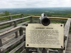 East tower landmark locator