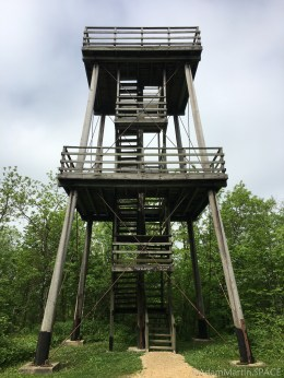 West observation tower