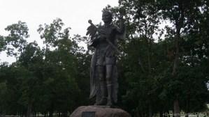 High Cliff State Park - Red Bird Statue