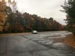 Lake Wissota State Park - Parked near trailhead