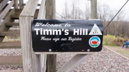Timms Hill - Mailbox on tower base