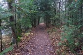 Dells of the Eau Claire River - Hiking trail