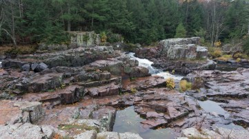 Dells of the Eau Claire River - View from north bank