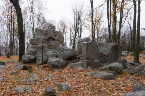 Rib Mountain State Park - Queen's Chair rock formation