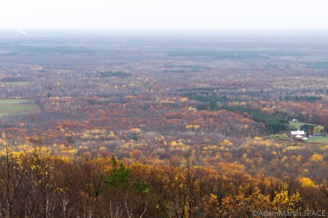 Rib Mountain State Park - View from observation tower