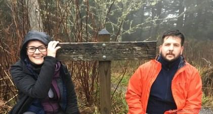 Clingmans Dome - Appalachian Trail sign