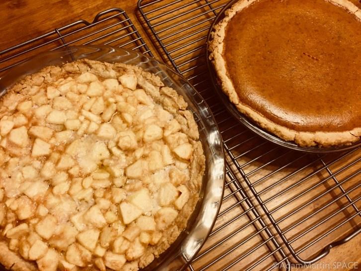 2017 Thanksgiving pies