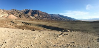 Death Valley - Elevated view from short hiking trail