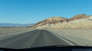 Death Valley - Leaving Artists Drive