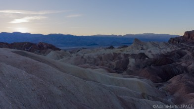 Death Valley - Sunset at Zabriskie Point