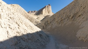 Death Valley - Manly Beacon on Golden Canyon trail