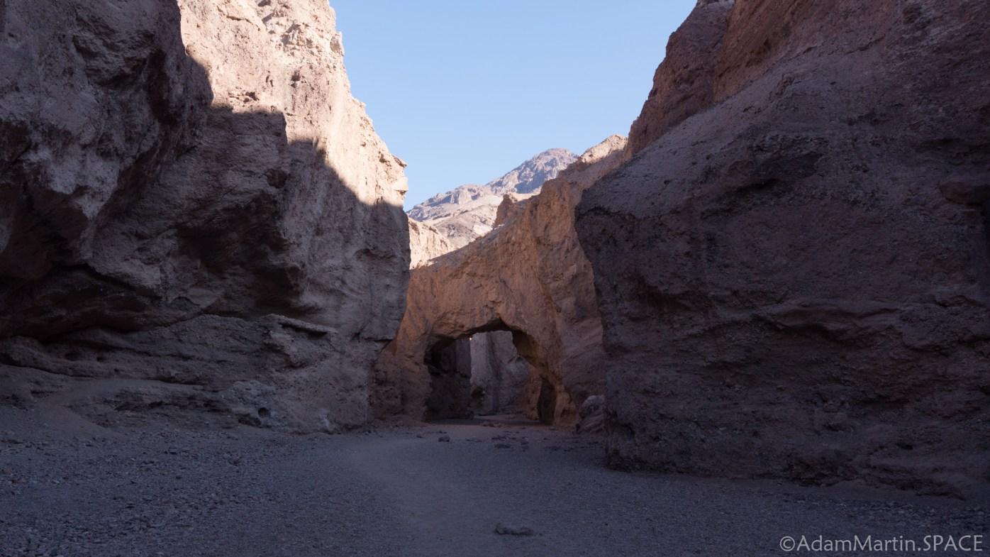 Death Valley - Natural Bridge rock formation
