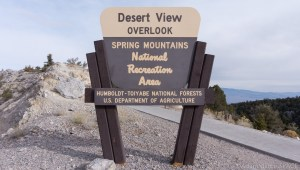 Mount Charleston - Desert View Overlook
