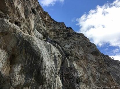 Mount Charleston - Looking upwards at Mary Jane Falls