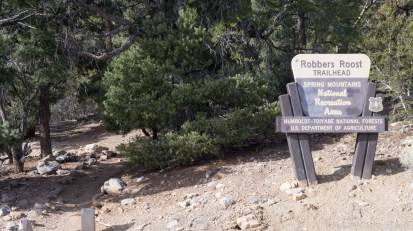 Mount Charleston - Robbers Roost