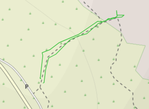 GaiaGPS hiking data @ Red Rock Canyon - Calico Hills